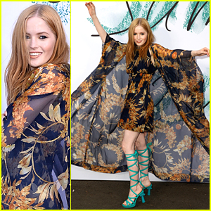 Ellie Bamber Wears The Dress of Your Dreams to The Serpentine Galleries Summer Party