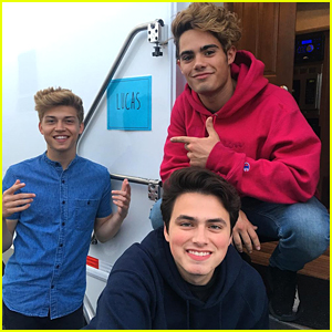 Forever in Your Mind Supports Emery Kelly at First Taping For New Netflix Show