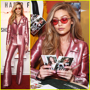 Gigi Hadid Channels Barbie Girl For Vogue Eyewear Launch!