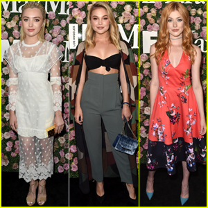 Peyton List, Olivia Holt & Katherine McNamara Celebrate Women in Film!