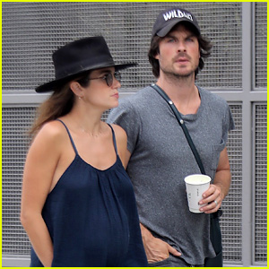 Ian Somerhalder Carries Wife Nikki Reed's Purse on Their Way to Lunch!