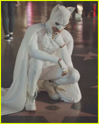 Jaden Smith Puts On His White Batman Suit for a Music Video