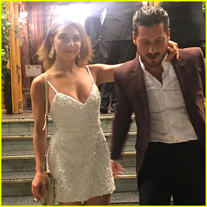 Jenna Johnson & Val Chmerkovskiy Hint at Rekindled Romance During Their European Vacation