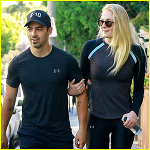 Joe Jonas Has a Fitness Friday with Sophie Turner & DNCE!