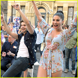 Kira Kosarin & Jack Griffo Celebrate 100 Episodes of 'The Thundermans'