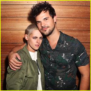 Kristen Stewart Has a 'Twilight' Reunion with Taylor Lautner!
