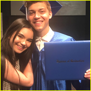 Landry Bender Celebrates Ricky Garcia's Graduation on Instagram