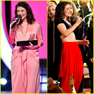 Lorde Performs Her Hit Singles at MMVAs 2017!
