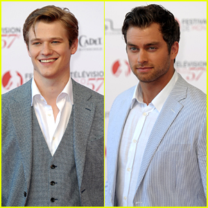 Lucas Till & Pierson Fode Charm Their Way to Monte Carlo's Annual TV Festival