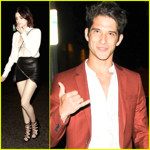 Lucy Hale Celebrates Her 28th Birthday with Tyler Posey & Sarah Hyland