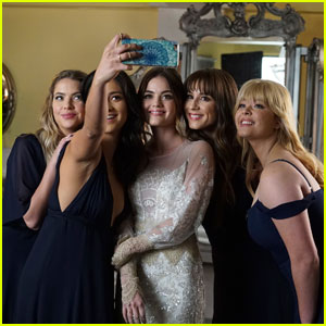 Aria Wears A Wedding Dress in New 'Pretty Little Liars' Finale Photos!