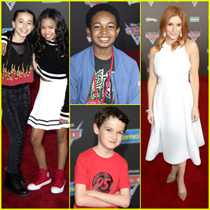 'Raven's Home' Cast Races To 'Cars 3' Premiere at Disneyland - Pics Inside!