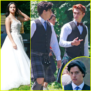 'Riverdale' Films Wedding Scene - Who's Getting Married?! (Spoilers)