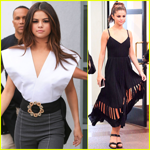 Selena Gomez Looks Super Stylish While Out in Hollywood