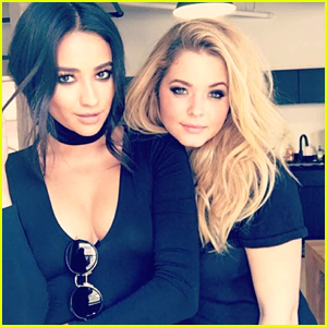 'Pretty Little Liars' Stars Shay Mitchell & Sasha Pieterse Weigh In on All Those Twin Theories
