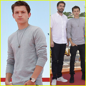Tom Holland Continues Whirlwind 'Spider-Man: Homecoming' Press Tour!