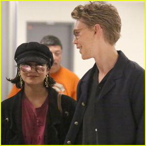 Vanessa Hudgens & Austin Butler Head Back to LA Following Hamptons Getaway