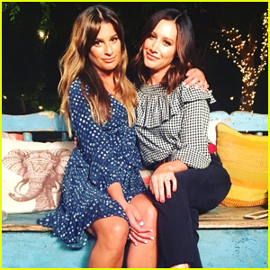 Lea Michele Sings 'Dancing On My Own' With Ashley Tisdale - Watch Now!