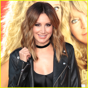 Ashley Tisdale Makes an Important Point About How Much We Use Social Media