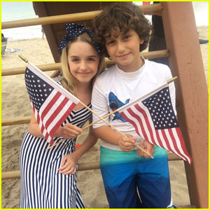 August Maturo Shares Adorable 'Best Friend-iversary' Photos With McKenna Grace
