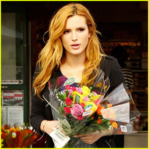 Bella Thorne Explains Her 'Obsession' With Getting Flowers (Exclusive)