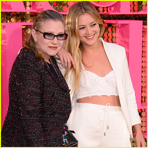 Billie Lourd Writes Sweet Acceptance Speech for Carrie Fisher's Disney Legends Award