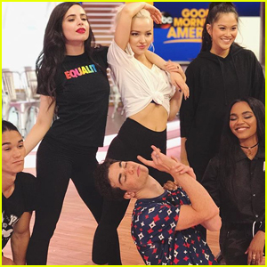 Cameron Boyce Was Just Being Cameron on GMA With His 'Descendants 2' Cast