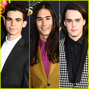 Cameron Boyce, Booboo Stewart, & Mitchell Hope Suit Up for 'D2' Premiere!