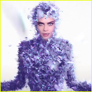 Cara Delevingne is Covered with Butterflies in 'I Feel Everything' Music Video - Watch!