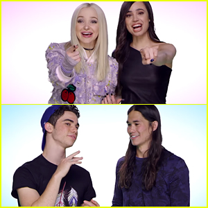 Dove Cameron & Sofia Carson Play 'Descendants 2' Tag & Prove They're BFFs For Life