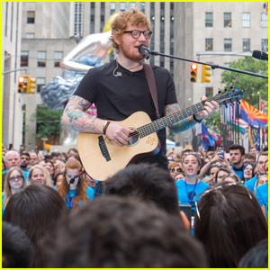Ed Sheeran Stuns Fans With 'Supermarket Flowers' Performance on 'Today' (Video)