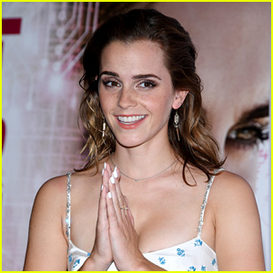Emma Watson Makes a Graceful Landing After Skydiving - Watch Now!