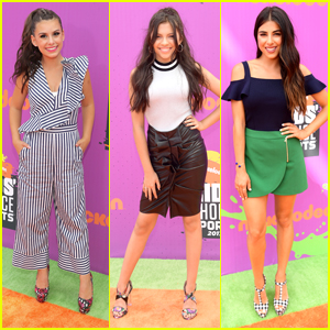 Cree Cicchino & Madisyn Shipman Glam Up For Kids' Choice Sports Awards 2017