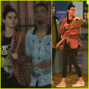 Kendall Jenner & Rapper Taco Celebrate Tyler the Creator's New Album