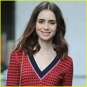 Lily Collins' Mom Was Shocked & Cried At Her New Movie 'To The Bone'