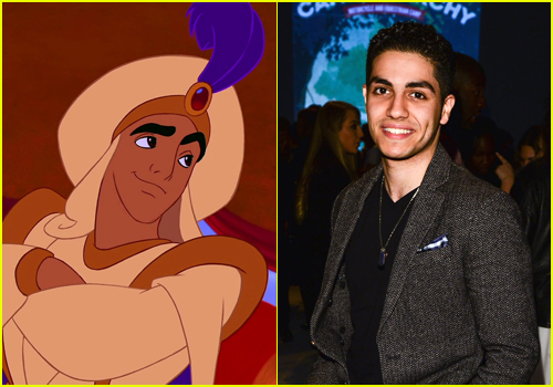Aladdin Movie Cast: Mena Massoud, Naomi Scott Land Aladdin, Jasmine Roles