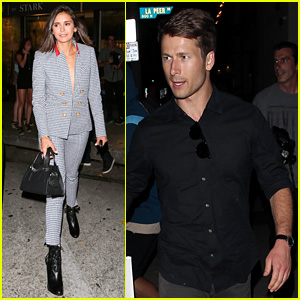 Nina Dobrev & Glen Powell Couple Up for Hot Date