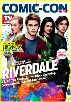 'Riverdale' Cast Grabs Cover of TVGuide for Comic-Con 2017!