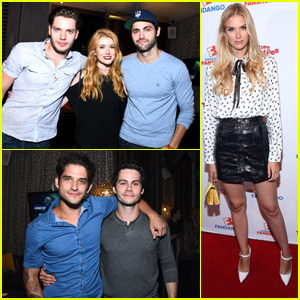'Shadowhunters' 'Teen Wolf' & 'Stitchers' Casts Party It Up at Comic-Con 2017
