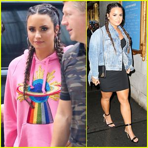Demi Lovato is Slaying the Streets of NYC!