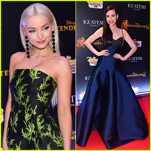 Dove Cameron & Sofia Carson Premiere 'Descendants 2' in Sao Paulo