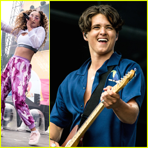 The Vamps' Brad Simpson Remembers His Very First Time at V Festival