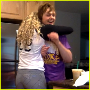 R5's Ellington Ratliff Pulls Off A Pretty Sweet Birthday Surprise for Rydel Lynch (Video)