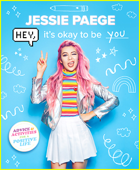 Social Star Jessie Paege Dishes on Her New Book 'Hey, It's Okay To be You' (Exclusive)