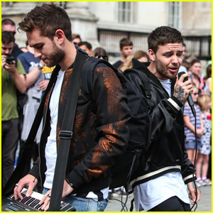 Liam Payne & Zedd Surprise Fans While Shooting 'Get Low' Music Video