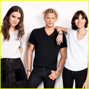 Maia Mitchell & Cody Simpson Star in Bond's New Homegrown Tee Campaign Together