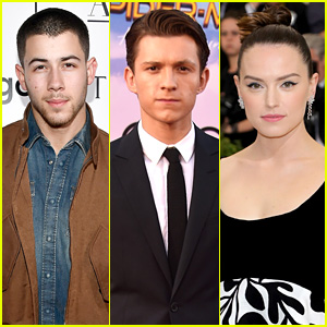 Nick Jonas, Tom Holland, & Daisy Ridley Team Up for 'Chaos Walking'