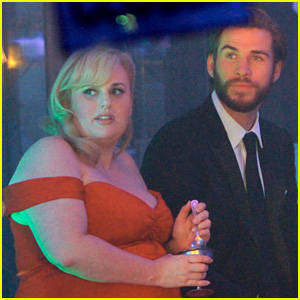 Liam Hemsworth & Rebel Wilson Chat Over Ice Cream on Final Day of 'Isn't It Romantic' Filming