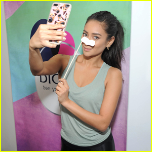 Shay Mitchell Has No Shame in Wearing A Face Mask in Public