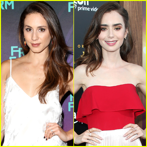 Troian Bellisario Was 'Blown Away' By Lily Collins in 'To The Bone'